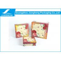 Wholesale Coated Paper Essential Oil Packaging Boxes Rigid Cardboard Printing Flower Gift Box from china suppliers