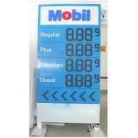 Wholesale High Resolution Digital Led Gas Price Display Boards For Gas Station from china suppliers