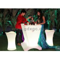 Wholesale Waterproof IP54 Plastic Lighted Cocktail Tables for Beer Bar , 50000H Lifespan from china suppliers