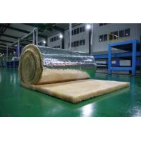 Wholesale Orange Glass Wool Blanket Applied to Roof Insulation , 10-60 kg /m3 from china suppliers
