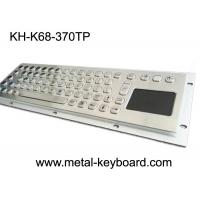 Wholesale Stainless Steel Panel mount industrial pc keyboard with touchpad from china suppliers