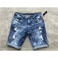 Wholesale 5 Pockets Boys Stretch Denim ShortsWith  98% Cotton 2% Elastane TW81110 from china suppliers