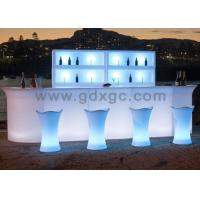 Wholesale Hot sale Glow illuminated WRGB LED bar table with remote control change different colors from china suppliers