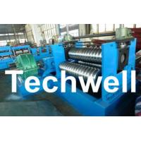 Wholesale 0.25 - 4.0mm 3 Sets Rollers Corrugated Sheet Bending Machine With 0 - 10m/min Speed from china suppliers