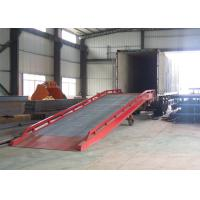 Buy cheap CE certification mobile container ramp with 10 ton capacity from wholesalers