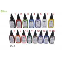 Wholesale kuro Sumi Tattoo Ink Pigment 0.5 Oz 15 Color Set For Starter / Beginner from china suppliers
