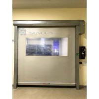 Wholesale High Frequency / High Speed Roll Up Door Anti - Electrostatic Fabric Curtain from china suppliers