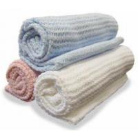 Wholesale 100% Cotton Cellular Blanket (LJ-X98) from china suppliers