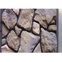 Wholesale Scattered Artificial Rock Siding For Villas / Railway Station Steam - Cured from china suppliers
