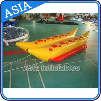 Wholesale Water Games Inflatable Boats Double Tubes Flying Fish Inflatable Banana Boat from china suppliers