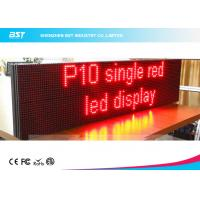Wholesale Lightweight Moving Message Led Sign Programmable Led Display With 10mm Pixel Pitch from china suppliers