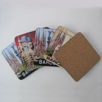 Wholesale Hot Wholesale Square Shape cork coaster Customized size and printed logo for home and hotel from china suppliers