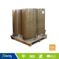 Wholesale Customize 1280mm Brown Color BOPP Packing Tape Jumbo Roll with Good Quality from china suppliers