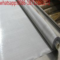 Wholesale Temperature Resistant 200 Micron 100 Mesh Tungsten Wire Mesh/99.9% pure tungsten filter wire mesh screen from china suppliers