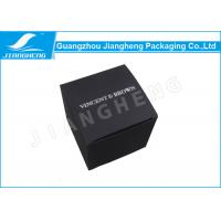 Wholesale Black Card Paper Material Paper Gift Box For Cosmetic Or Personal Care Product from china suppliers
