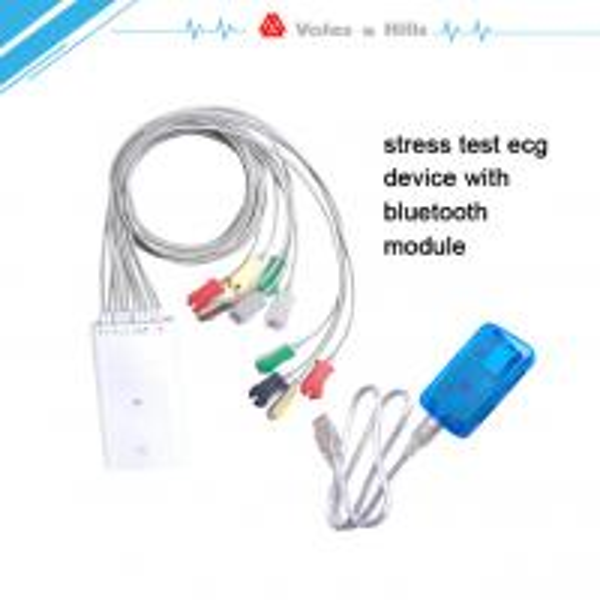 Stress Test Treadmill Time: Mini Automatic Portable Stress Test ECG Machine With
