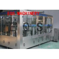 Wholesale 3 in 1 Carbonated Drink Filling Machine Sus 304 Material With Washer / Filler / Capper from china suppliers