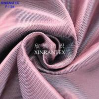 Wholesale F1154 100% polyester cationic yarn taffeta dobby jacquard for garment lining two tones from china suppliers