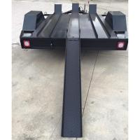 Wholesale 7x5 Three Track Motorcycle Transport Trailer , 2 Bike Motorcycle Trailer from china suppliers