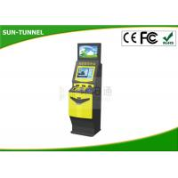 Wholesale ATM bill Self Service Ticket Machine printing photo booth , Free Standing Kiosk from china suppliers