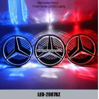 Wholesale Mercedes-Benz GLK class W204 GLK200 Front Grille logo LED Light Badge Lights from china suppliers