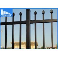 Quality 360 Degree Full Welded Steel Panel Fence For Garden High Anti Corrosion for sale