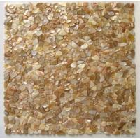 Buy cheap Freshwater Shell Mosaic On Mesh from wholesalers