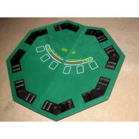 Wholesale Promotional Folding Poker Table Top Easy Carry Poker Table Covers Tops With Carry Bag from china suppliers