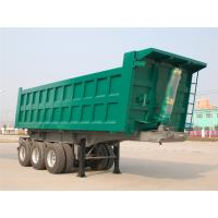 Wholesale Carbon Steel T700 Heavy Duty Semi Trailers 3 Axle 26M3 - 30M3 30t 40 Ton 50T Dump Trailer from china suppliers