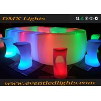 Wholesale Nightclub Led Bar Counter , lounge and bar furniture Multi Colors Changing from china suppliers