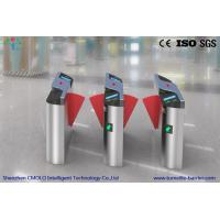 Wholesale Brushed Finish Speedlane Optical Turnstiles For Access Control , Anti - Collision from china suppliers