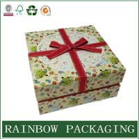 Wholesale Factory Custom Cardboard Paper Box Packaging for Gift Chocolate with Ribbon from china suppliers
