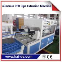 Wholesale High speed PPRC water pipe  making machine 40m/min double outlet extruder machine from china suppliers