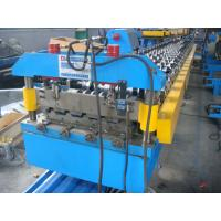 Wholesale 50Hz Steel Tile Forming Machine with Compture Control System , Cr12mov Blade from china suppliers