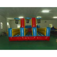 Wholesale Inflatable Three Persons Bungee Run ,Flame Retardant Inflatable Sports Games from china suppliers