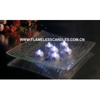 Wholesale Bright White LED Waterproof Tea Lights / Plastic Submersible LED Tealights Wholesale from china suppliers
