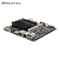 Wholesale Mini Fanless Industrial PC Motherboard 3.5 inch 2 LAN Ports Integrated CPU from china suppliers