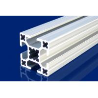 Wholesale 4mm T Slot Aluminum Extrusion Profiles Silver For Installment Window , Door from china suppliers