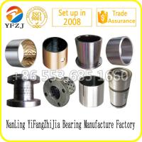 Wholesale Sintered bronze bi metal slide bush Du bearing Dx bearing Brass bushing Bronze bushing from china suppliers