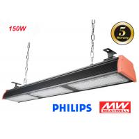 Wholesale Philips 3030 LED Linear High Bay 4ft For Warehouse IP66 , Meanwell Driver from china suppliers