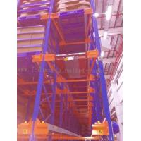Wholesale Heavy Duty Pallet Storage Radio Shuttle Racking System Operated by Forklift / Shuttle Motor from china suppliers