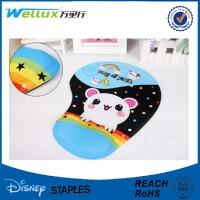 Wholesale Customized 3D Breast Mouse Pad Wrist Support for Laptop Cloth / PU / Fabric from china suppliers