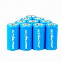 Wholesale 18650 Li-ion Batteries with 2000mAh Nominal Capacity and 3.6V Rated Voltage from china suppliers