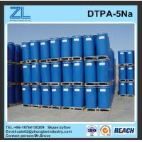 Wholesale light yellow DTPA-5Na liquid for textile from china suppliers