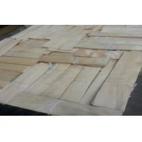 Wholesale natural sliced cut China maple wood veneer for furniture from china suppliers