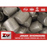 Wholesale High chrome / low chrome / medium chrome casting iron cylpebs for building material industry from china suppliers