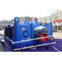 Wholesale 0.55mm PVC Tarpaulin Small Plant Garden Inflatable Fun City Playground By Sewing from china suppliers