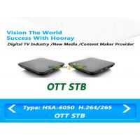 Wholesale Android OTT Set Top Box IPTV Decoder 8GB EMMC Storage 1GB DDR3 Memory from china suppliers