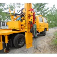 2017 NJJ5070TQX5 Highway Truck-mounted Guardrail Installation Machine Post Driver for sale