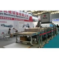 Wholesale 3 Pairs Air Knife Solar Glass Washing Machine with Hair Brush Motor from china suppliers